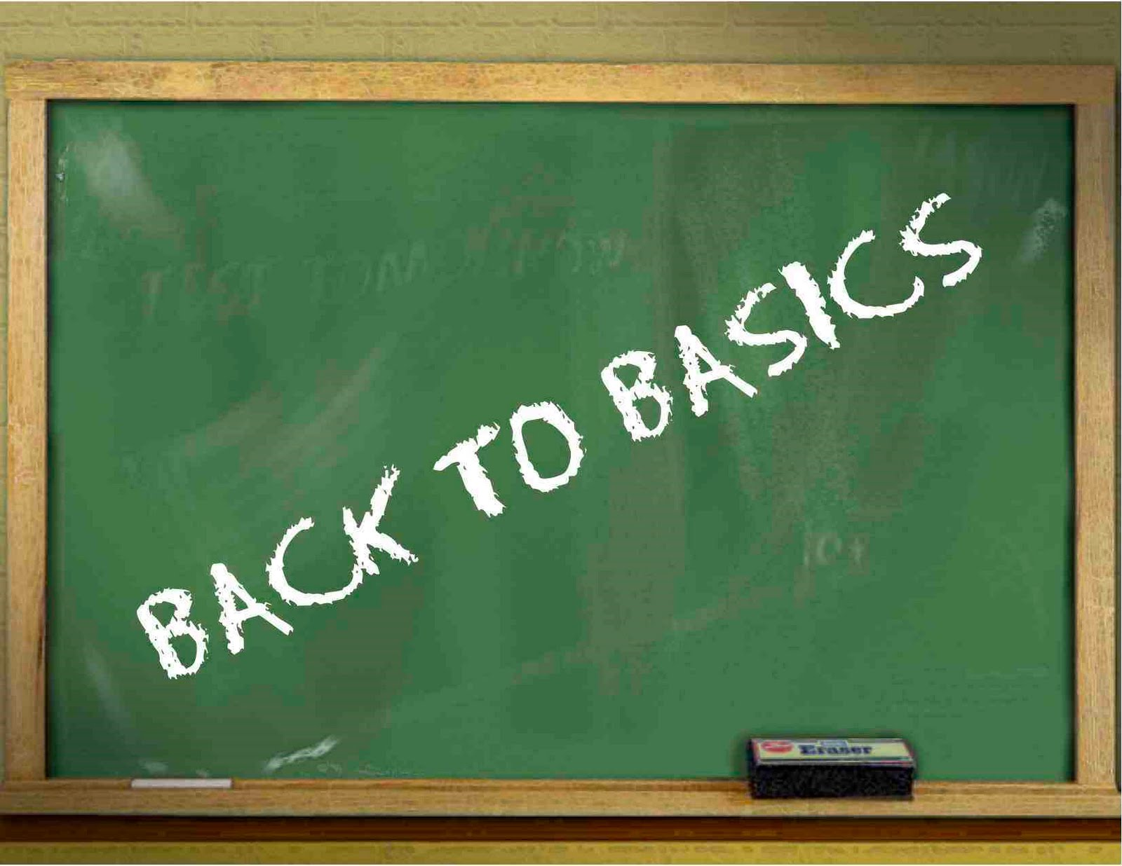 getting back to basics To get back to basics definition: to revert to a simpler method, eg of living or doing business | meaning, pronunciation, translations and examples.
